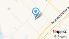 Баня на ул. УДТГ пос на карте