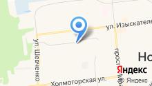 Ноябрьская ремонтно-эксплуатационная компания №4 на карте