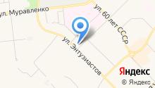 Западно-Cибирская кадастровая компания на карте