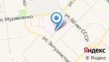 Контек Иншаат Аноним Ширкети, АО на карте