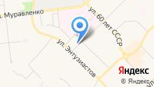 Центр гигиены и эпидемиологии в Ямало-Ненецком автономном округе на карте
