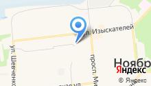 Федеральная служба по экологическому, технологическому и атомному надзору по Ямало-Ненецкому автономному округу на карте