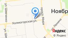 Учебно-методический центр по ГО и ЧС Ямало-Ненецкого автономного округа на карте