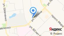 Центр социального обслуживания граждан пожилого возраста и инвалидов в Муниципальном образовании город Ноябрьск, ГБУ на карте