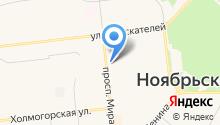 Ноябрьск24 на карте