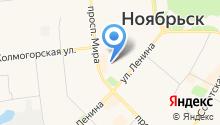 Радио-Ноябрьск, FM 103.0 на карте