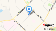Администрация г. Ноябрьска на карте