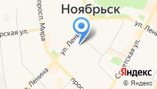 Дорожная дирекция Ямало-Ненецкого автономного округа на карте