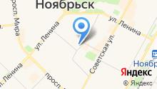 Копейка Ноябрьск на карте