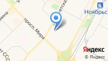Магазин овощей и фруктов на Советской на карте