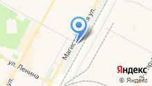 Люмар на карте