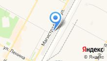 Шинка на карте