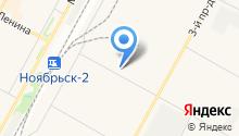 Протон на карте