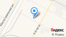 Окружной сборный пункт на карте