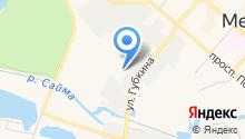 Экохит на карте
