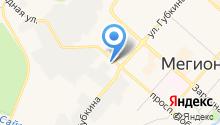 Мегапроект на карте