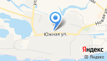 Южное на карте