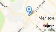 Адрия на карте