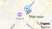 Бюро судебно-медицинской экспертизы Ханты-Мансийского автономного округа на карте