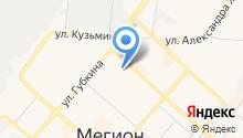 Отдел МВД России по г. Мегиону на карте