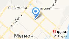 Банкомат, Ханты-Мансийский банк на карте