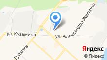 14 отряд ФПС по Ханты-Мансийскому автономному округу-Югре на карте