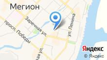 Спорт-Альтаир, МБУ на карте