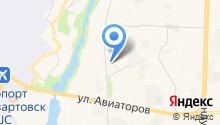 Автомагистраль, ЗАО на карте
