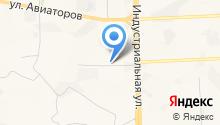 Якобс на карте