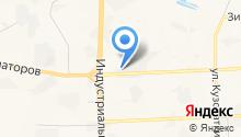 ТИКАМИС на карте