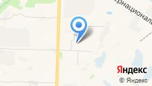 Авторубеж-Югра на карте
