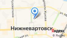 Адвокатская палата Ханты-Мансийского автономного округа на карте