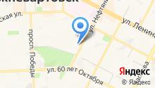 Первая Нижневартовская городская коллегия адвокатов на карте