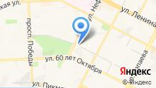 Адвокат Буксина Т.Н. на карте