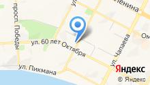 Адвокат Кармацких Л.В. на карте