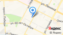 Агентство горящих туров плюс на карте