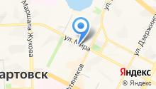 Магазин тканей и фурнитуры на карте