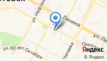 Администрация г. Нижневартовска на карте