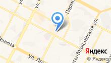 Любимая кухня на карте