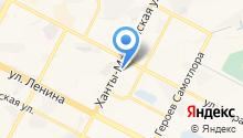 Авика на карте