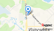 Фермер района на карте