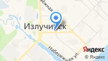 Житомир на карте