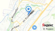 Султанбек на карте