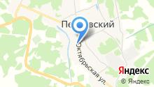 Петровский отдельный пост на карте