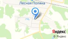 Леснополянская врачебная амбулатория на карте