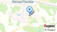 Леснополянский сельский дом культуры на карте