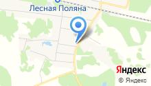 Администрация Леснополянского сельсовета на карте