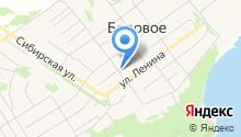Боровская врачебная амбулатория на карте