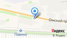 Ордынский райтоп, ЗАО на карте
