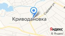 Криводановская средняя общеобразовательная школа №23 на карте